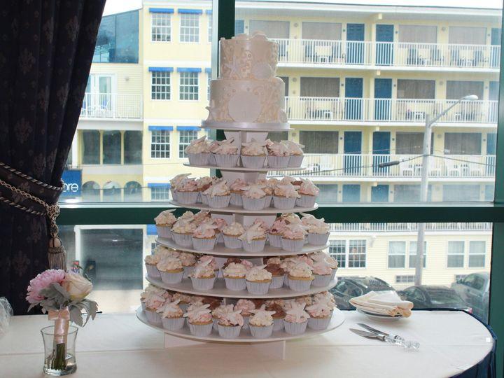 Tmx 1453052712139 Seashell Pearls Lewes, DE wedding cake