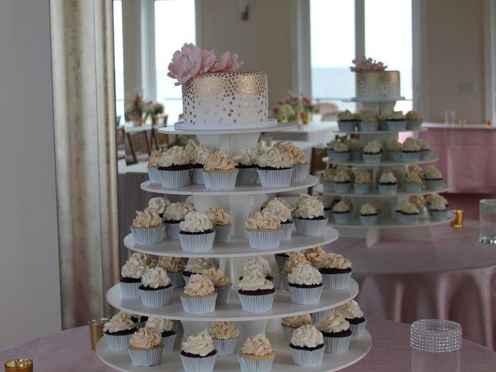 Tmx 1453052975490 Gold Mirror Lewes, DE wedding cake
