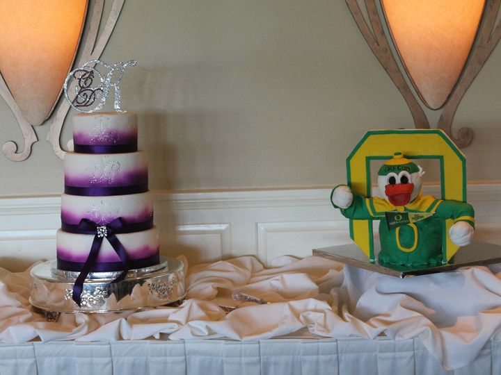 Tmx 1453053064980 Baywood Pruple Duck Lewes, DE wedding cake