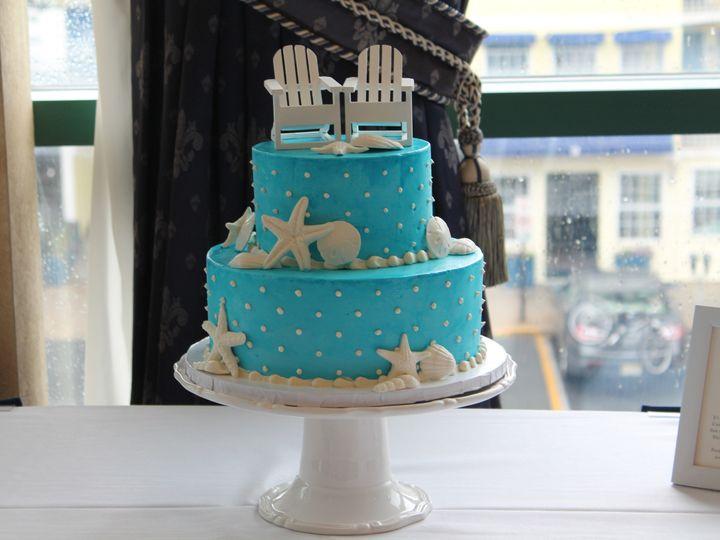 Tmx 1453053125073 Blue Sands Close Lewes, DE wedding cake