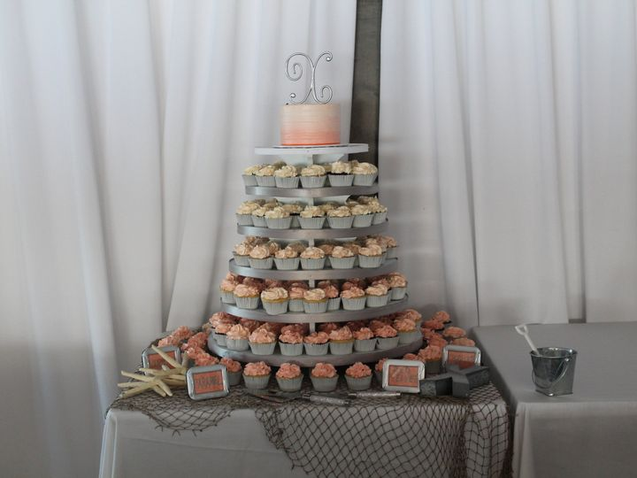 Tmx 1453053297735 Ivy Ombree Lewes, DE wedding cake