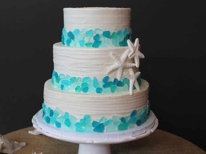 Tmx 1453053411013 Seaglass Lewes, DE wedding cake