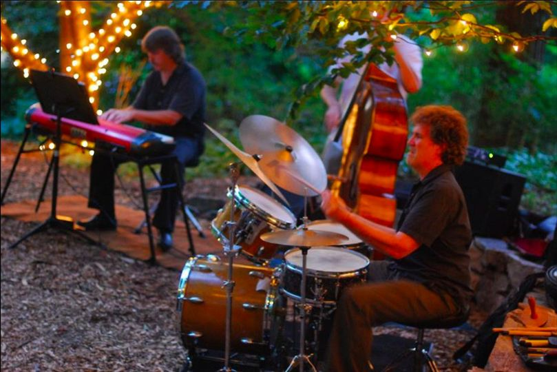 Band Performing Outdoors