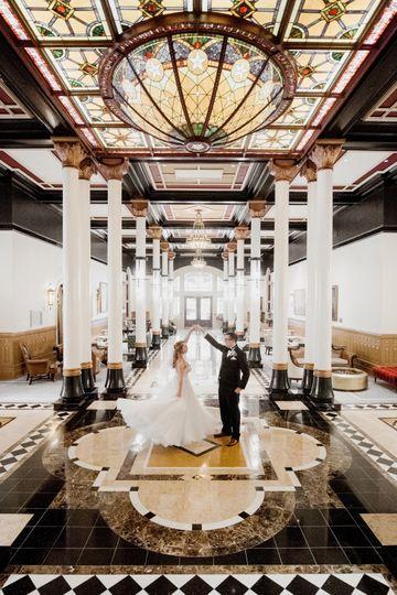 The Driskill Hotel Lobby