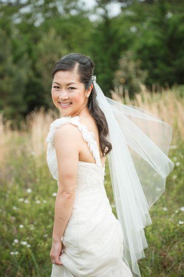 Bride at Vinewood Plantation