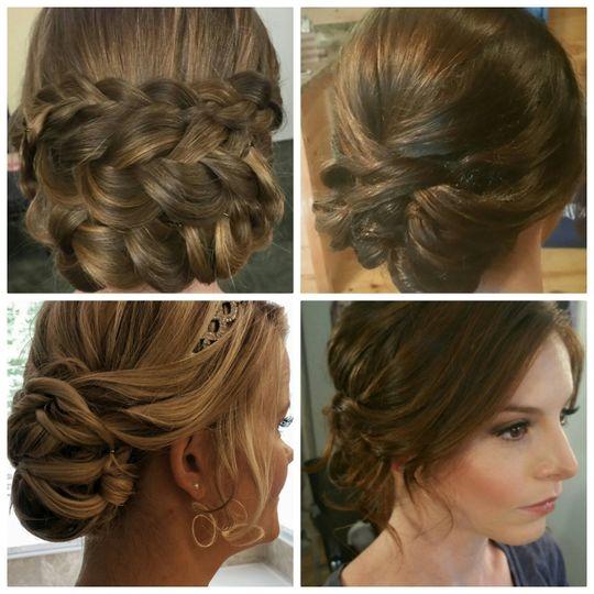 Sample hairstyles