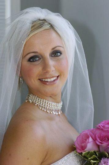 Sample make-up look