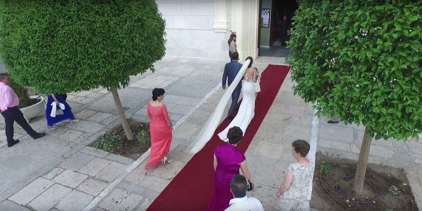 Couple Procession