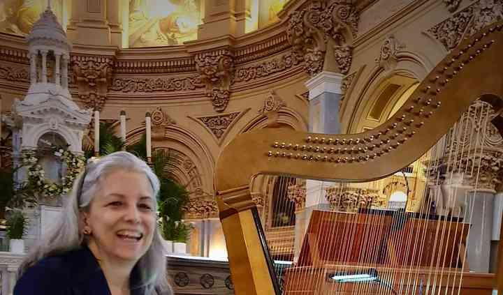 Christa Patton Baroque Harpist