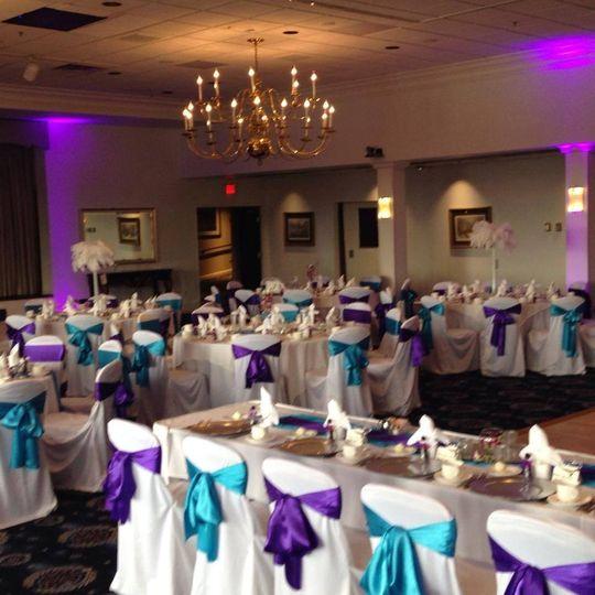 Teal & Purple Wedding  - Bolling Air Force Base (Washington, DC)