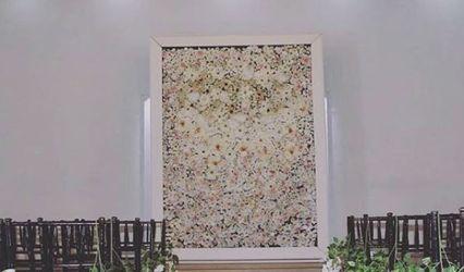 Classy Flower Wall