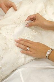 Each bridal gown is evaluated with the utmost care and attention. Our team looks at the fabric,...