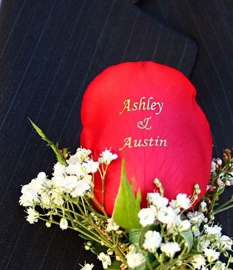 Personalized Boutonniere