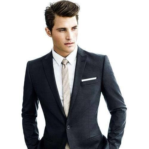 Classic suit and tie