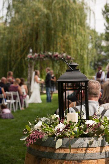 Lovely lawn wedding