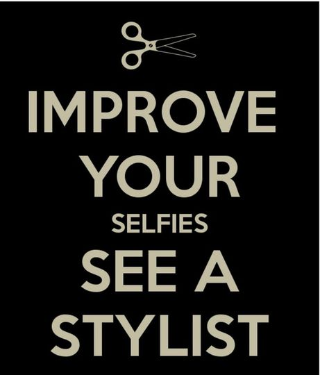 Selfie Time with a Stylist