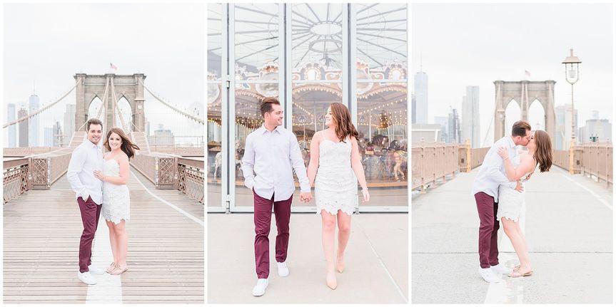 Brooklyn Bridge Engagement Pho