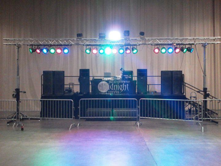 Large Events setup On