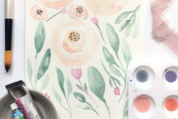 Watercolor by Mabe Design Co.