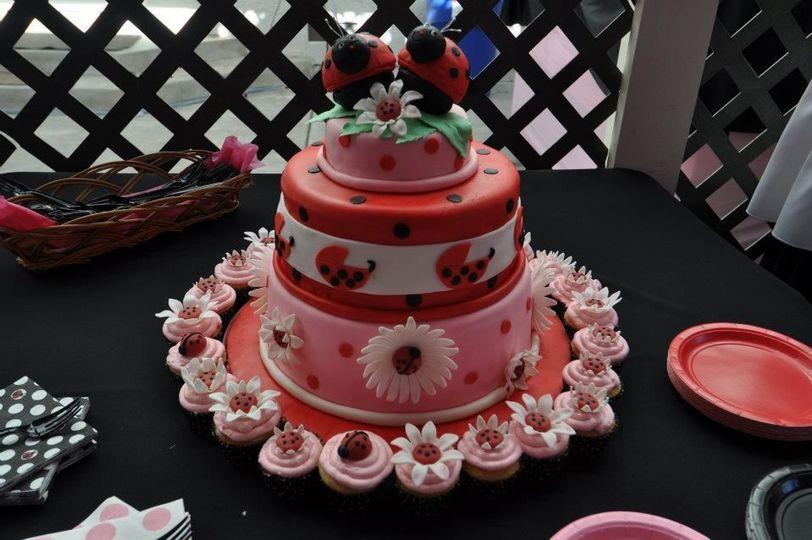 Custom design cake