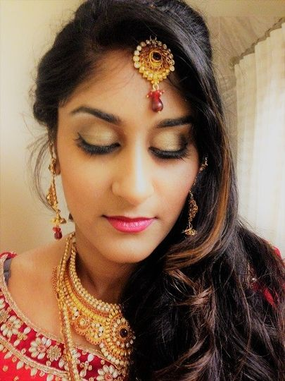 Bridal hair and make up