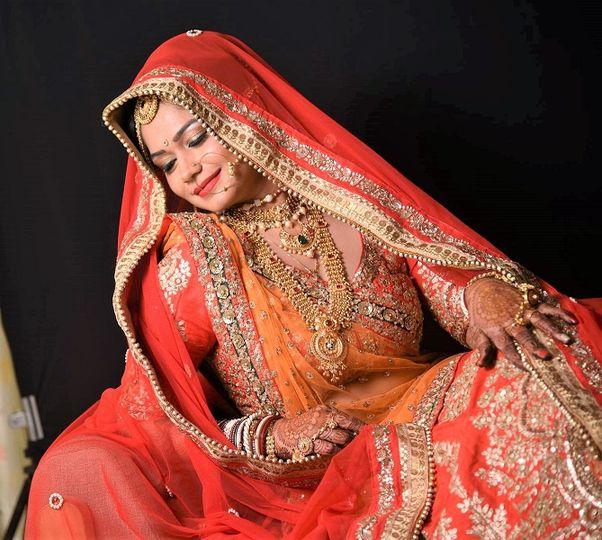 Bridal makeup - hair -henna,va