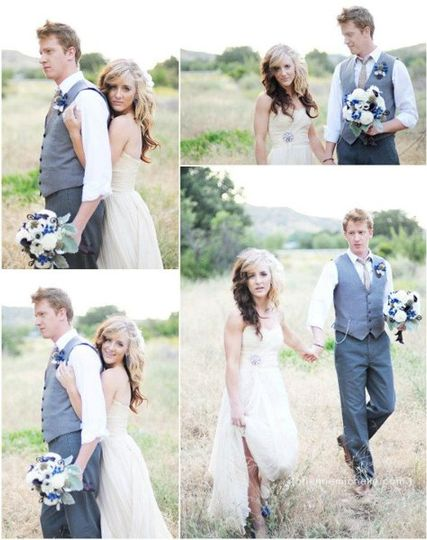 Featured on Green Wedding Shoes - Photos by Brienne Michelle Photography