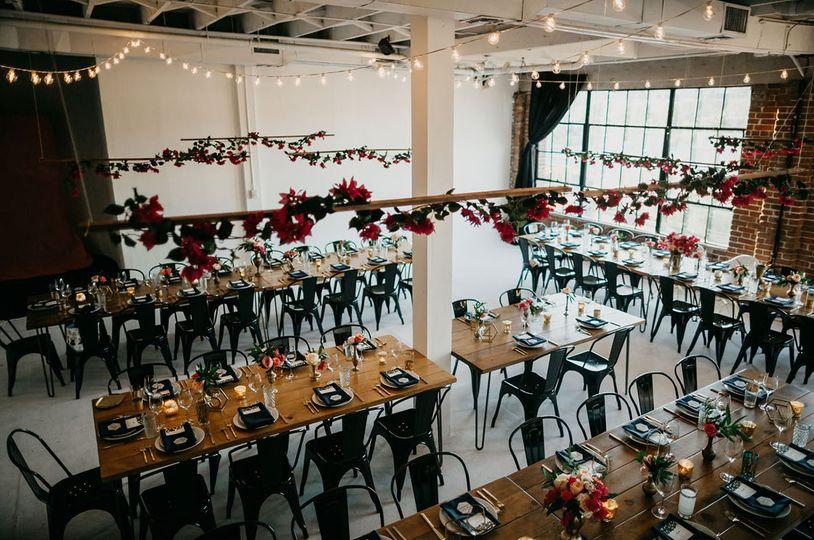 Hollywood Loft Wedding