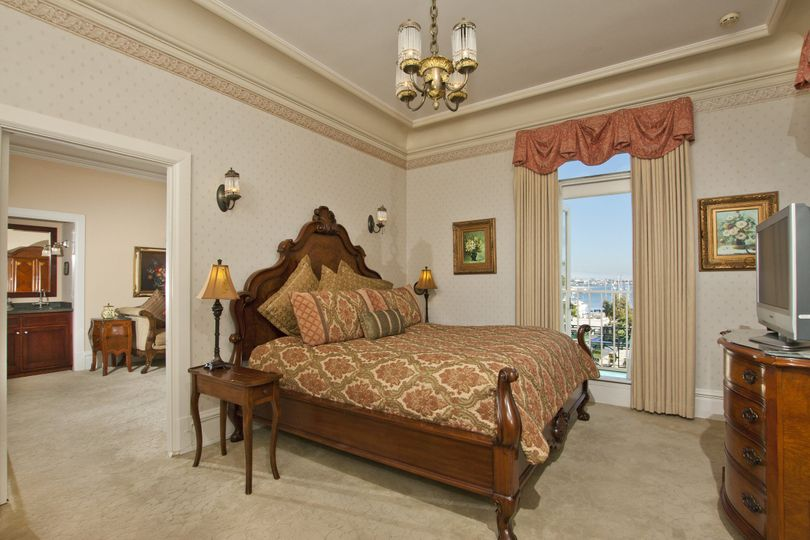 The Spreckels Suite - Originally the private bedroom of John D. Spreckels, this beautiful room has a...