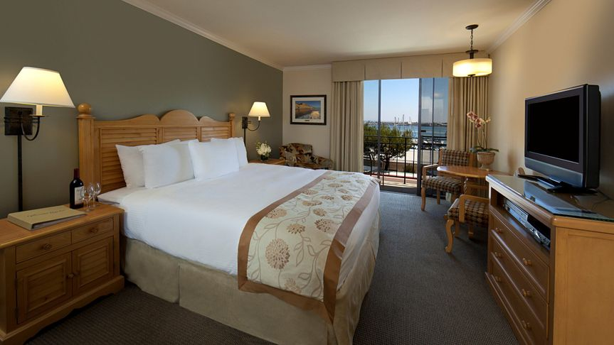 Bay View King or Queen Room - Located in the buildings surrounding the Mansion. All of these...