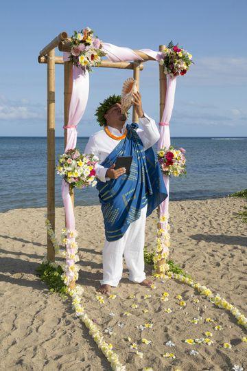 Aeike hawaiian wedding officiant services officiant honolulu 800x800 1415310198111 kahala wedding 2 junglespirit Images