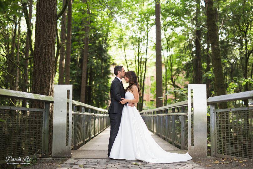 Forest wedding in Portland