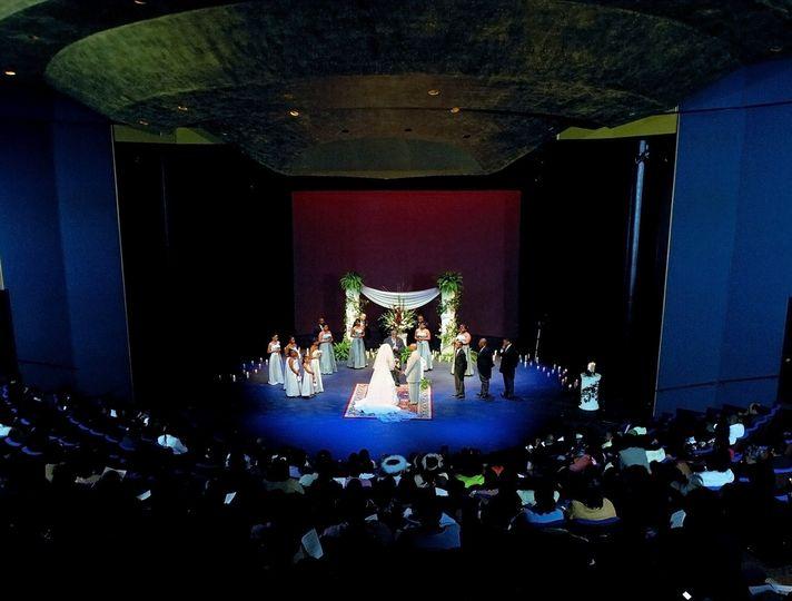 Ceremony in the Scott Theatre