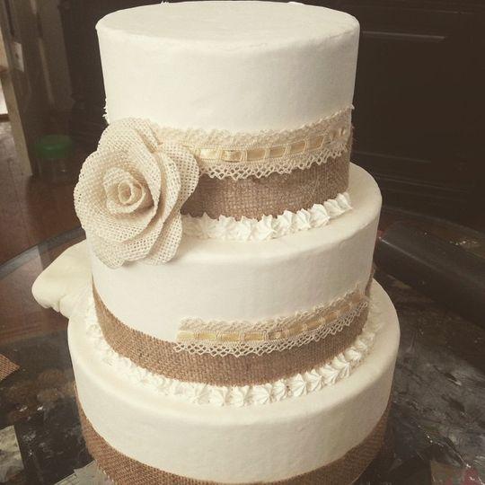 FauxCakes by Katie - Wedding Cake - Palo Alto, CA - WeddingWire