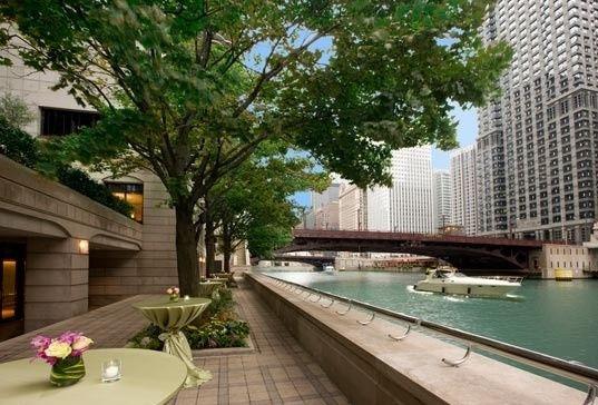 grand outdoor terrace