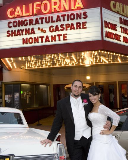 A Magnificent Fox Theatre Wedding Day: Fox Theater Salinas