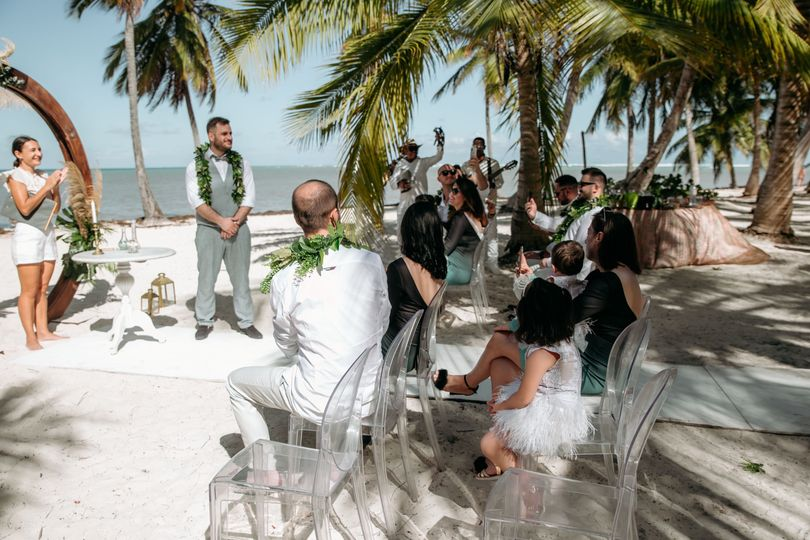 Intimate wedding up to 15 pers