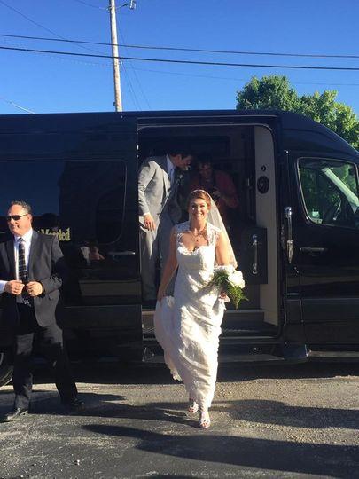 limo wedding