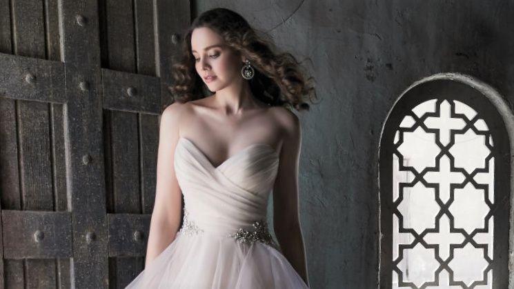 Gorgeous layered ballgown
