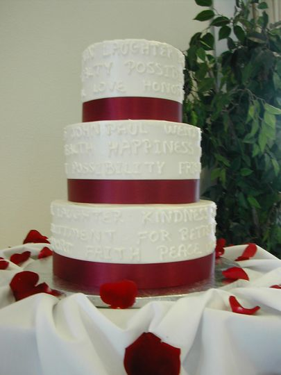 Twiggs Bakery Wedding Cake San Diego CA WeddingWire