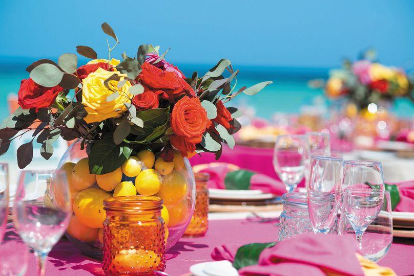 Tropical Wedding Vibe