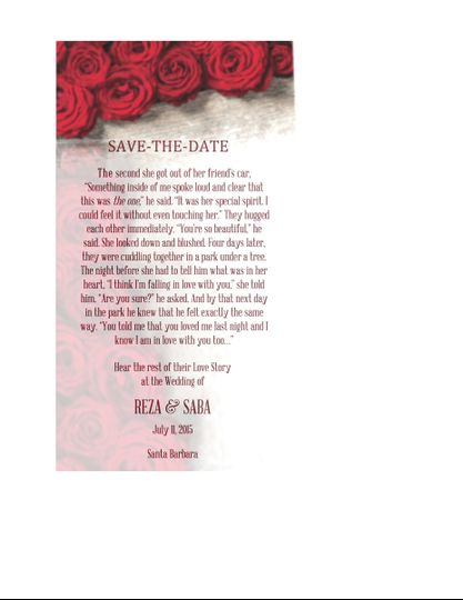 Only You Save-The-Date