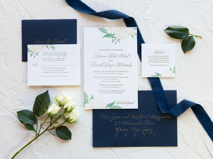 Tmx Jp Portfolio 22 51 993385 160227198915254 Dumont, NJ wedding invitation