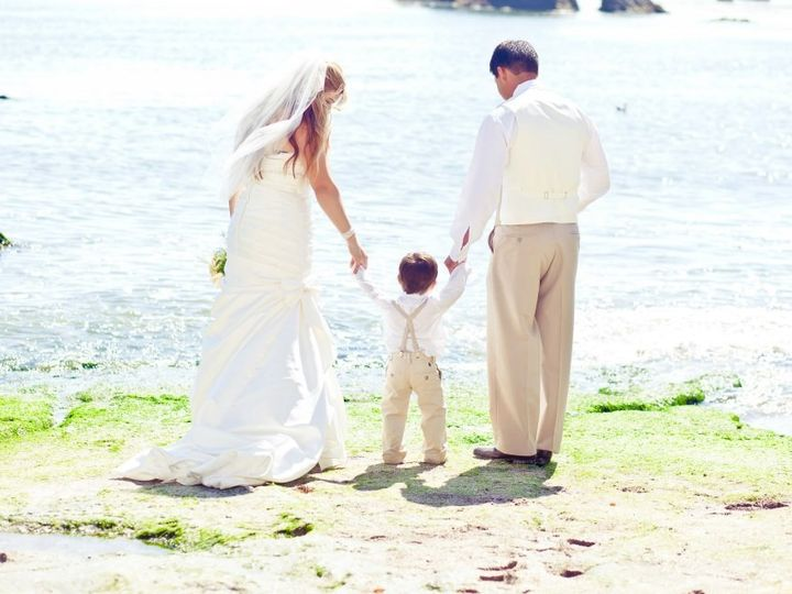 Tmx 1422420962311 Them And Baby Pismo Beach wedding officiant