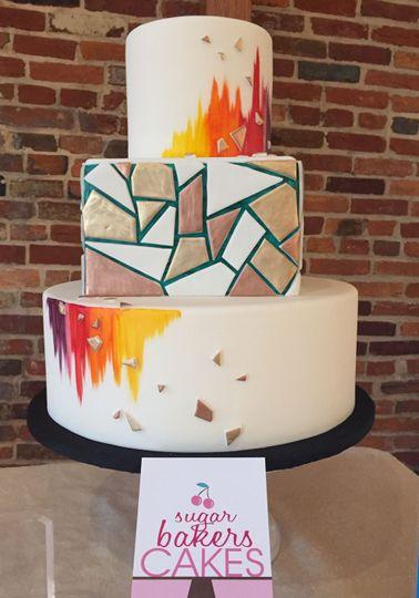 Geometric cake