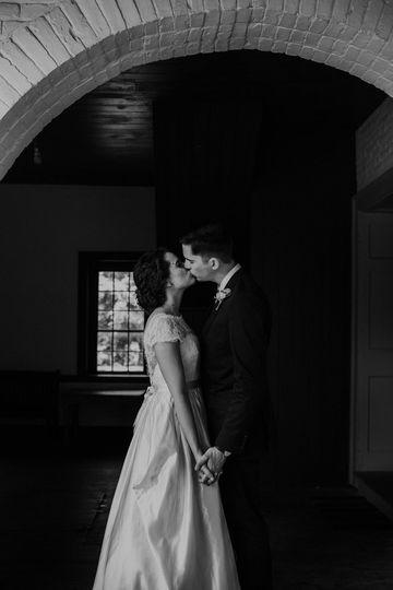Couple on LH porch