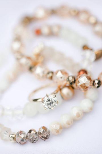 Amy Allen bridal details