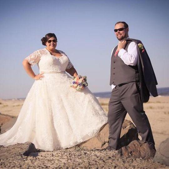 Fun newlyweds