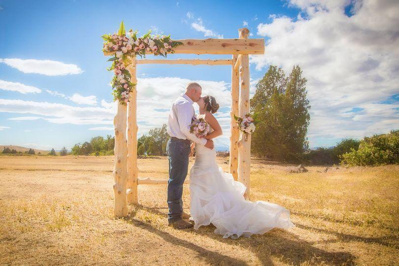 Nature's Point wedding ceremony site