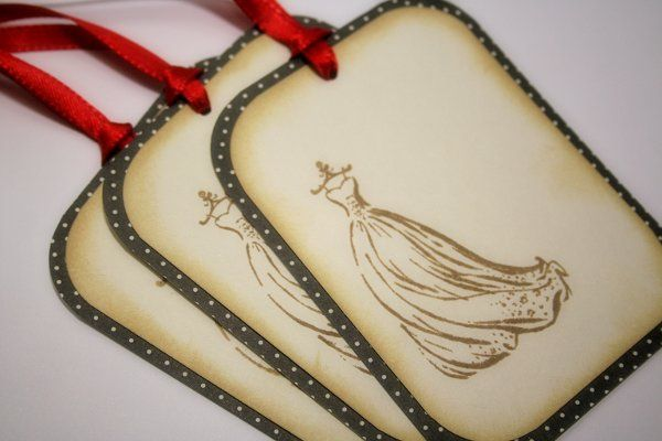 Wishing Tree/Gift Tags - Vintage Style